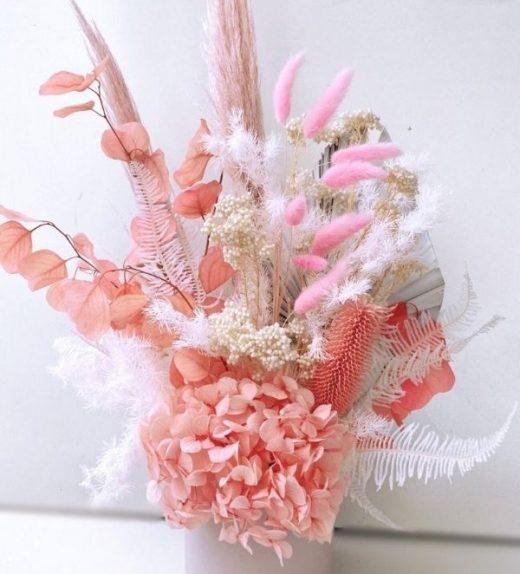 Pink Calcite Arrangement