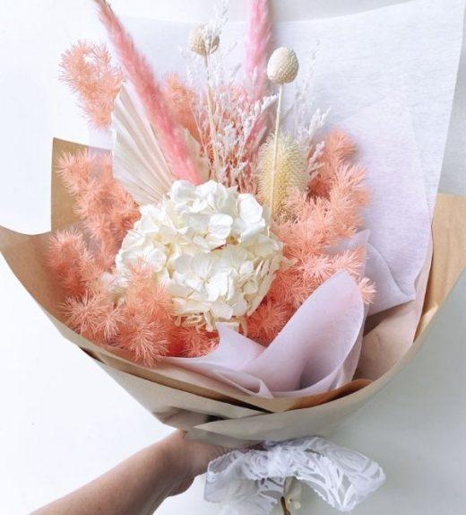 Pink Calcite Bouquet