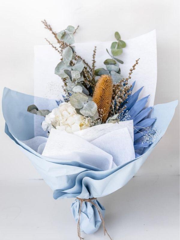 Blue Topaz Bouquet
