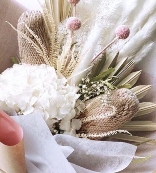 Clear Quarts Bouquet (1)