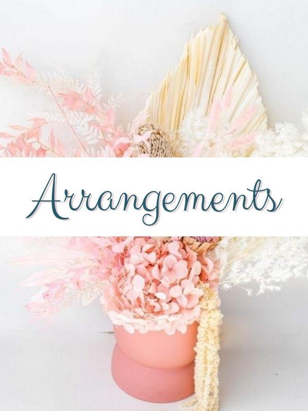 dried arrangements