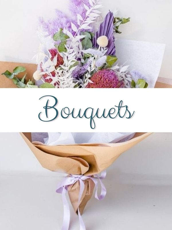 dried bouquets